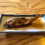 杉ケ瀬ヤナ - 鮎煮つけ