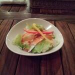 ステーキハウスB&M - セットサラダ