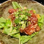 天下の台所大起水産 さしみと寿司の店 - ユッケ
