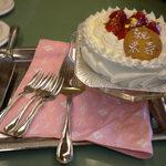 甘青堂 - お祝いのケーキ
