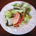 ジュリアーノ - 料理写真:サラダ(ハンバーグセット)