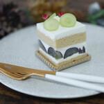 アトリエ オペラ - きび糖ショートケーキ(ナガノパープル)☆