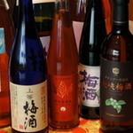 食彩工房 舎人 - 定番から変わり種まで多数の梅酒をご用意!女性に大人気!