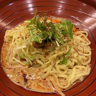金蠍 - 料理写真:汁なし金胡麻坦々麺