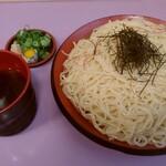 めん処 みやち - ざる中華(大)¥750