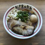 """松戸富田製麺 - 料理写真:""""特製煮干そば""""1,120円"""
