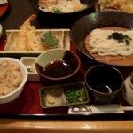 うどんのう - 天ぷら定食