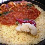 スペインバル ElceroUno - パエージャランチの魚介のパエージャ