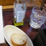 スペインバル ElceloUno - ランチはパンもお代わりできるそうです。
