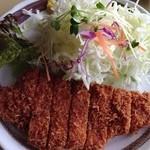 MOBU - 2012.11 ランチ とんかつ定食  850円♪