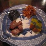 しらかめ - 「お野菜五点盛り」のうちの四点