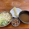 麺許皆伝 - 料理写真:肉ちく天つけうどん 大盛り