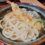 どんた - 料理写真:感動スープの天ぷらうどん