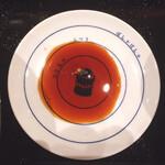 鮨・酒・肴 杉玉 - お醤油皿に目盛りあり