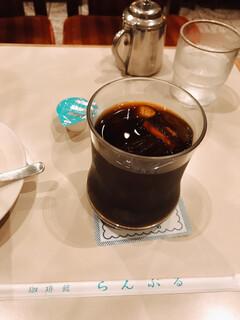 名曲・珈琲 新宿 らんぶる - アイスコーヒー