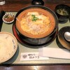 田むら銀かつ亭 - 料理写真:豆腐かつ煮定食