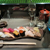 鮨処 すずめ - 料理写真:地魚の握り(大間まぐろ 中とろ、赤身、各1貫入り)