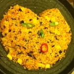 サランチェ - サムギョプサル食べ放題コースよりキムチ炒飯