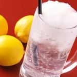 焼肉 天 がむしゃら - 特製フローズンレモンサワー