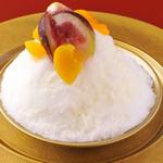 焼肉 天 がむしゃら - シロクマかき氷
