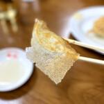 158651217 - 羽根つき焼き餃子