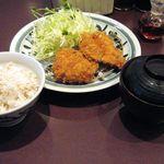 とんかつ浜勝 - 料理写真:浜勝ランチ(690円)
