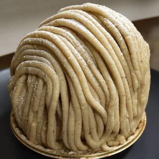 エミール - 料理写真:和栗のモンブラン