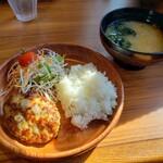 びっくりドンキー - 料理写真:ミニマムハンバーグディッシュセット2021.09.20