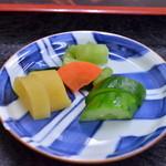 山本亭 - 漬物