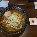 神楽 - 料理写真:【味玉味噌らーめん…970円】♪2021/8