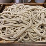嵯峨谷 - 蕎麦アップ