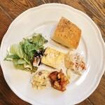 トレーロ タケウチ - 前菜の盛合せ