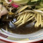 みやべ食堂 - しょうゆ系のスープ