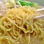 古潭 - 野菜味噌ラーメン(大盛り)