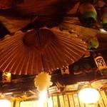 ふうりん - 天井もぎっしり