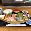 大漁 やまちゃん - 料理写真:・舟盛り定食(並) 1,400円/税抜