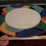 谷やんの店 - 料理写真:お箸でもいただけます!