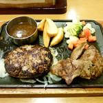 15871968 - ハンバーグ&カットステーキ