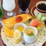 Cafe & Rest 花時計 - モーニングセット