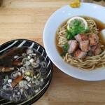 中華そば ユー リー - 料理写真:【限定】鴨つけそば 900円