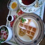 カフェ ローザ - モーニングセット 500円