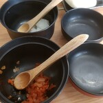 らーめん まつ☆うら - 料理写真:タマネギの2種
