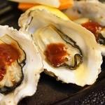 グリル プランセス - 焼き牡蠣