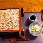 二八そば処 蕉風 - ざる蕎麦大盛