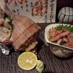 15874546 - つぶ貝は、何も付けない方が美味しかった。