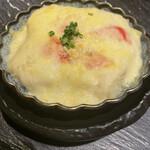 酒肴旬漁 狸穴 - めんたいチーズ豆腐