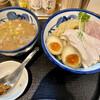つけ麺 たけもと - 料理写真:鶏と魚介の特製つけ麺(大盛)