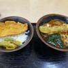 肥後一文字や - 料理写真:豚丼セットにちくわ天をプラス