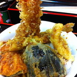 天ぷらそば ふくろう - 天丼