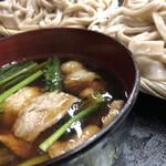 鈴や - 豚バラ、小松菜